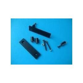 Flat Handles 2U Black (1MP0206N)