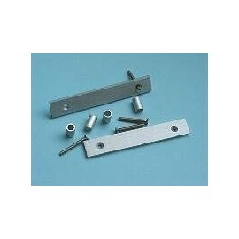 Flat Handles 3U Silver (1MP0306B)