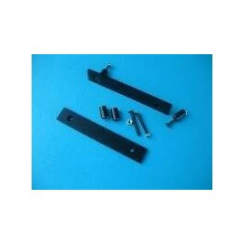 Flat Handles 3U Black (1MP0306)