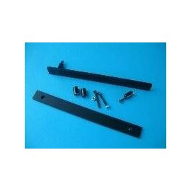 Flat Handles 5U Black (1MP0506N)