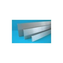 Front 2U Silver 10mm (1FRONT1002B)