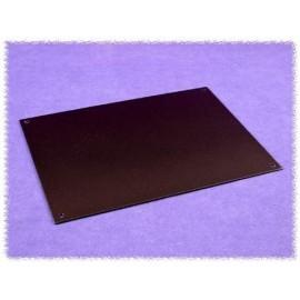 Hammond HW1310BKPL Black Aluminium Top & Bottom Panel