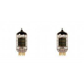 12AT7-ECC81 EH GOLD Coppia-pair