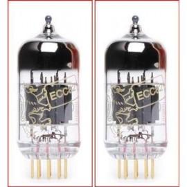 12AU7- ECC82- B749 Gold Pins Genalex Coppia-Pair