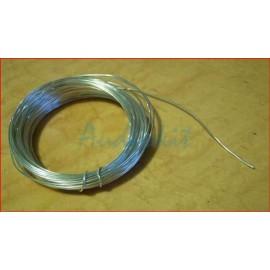 Solid Core Silver Copper diam. 1 mm