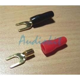AK30 Red/Black (COPPIA)   Fork 4,2