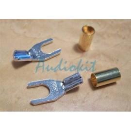Cardas GRS R    Rhodium Spade 7,5 mm