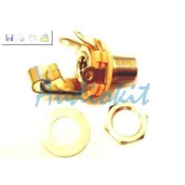 L12A  Jack Femina mm 6,3 Mono Switchcraft