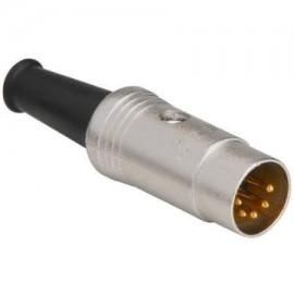 NYS322G  (DIN 5 Pole Gold)