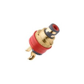 WBT-0210 Cu Ms  RCA Socket (PAIR)