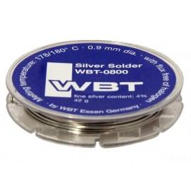 WBT-0800 - 42 gr Tin Silver Solder mm 0,9 dia