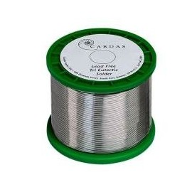 Cardas 100 gr   Tri Eutectic LEAD FREE Tin Silver Solder 0,mm 81 dia