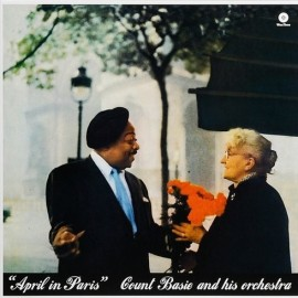 Count BASIE and HIS ORCHESTRA - APRIL IN PARIS (LP)