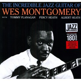Wes MONTGOMERY - THE INCREDIBLE JAZZ GUITAR OF WES MONTGOMERY (LP)