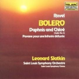 Leonard SLATKIN / SAINT LOUIS SYMPHONY ORCHESTRA - RAVEL - BOLERO (CD)