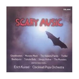 Erich KUNZEL - CINCINNATI POPS ORCHESTRA - SCARY MUSIC (CD)