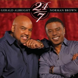 Gerald ALBRIGHT, Norman BROWN - 24/7 (CD)