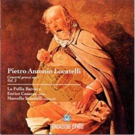 Pietro Antonio LOCATELLI - CONCERTI GROSSI Op.1, Vol. 2 (CD)
