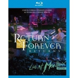 RETURN TO FOREVER - LIVE AT MONTREUX 2008 (BLU-RAY)