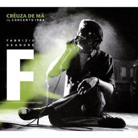 """Fabrizio DE ANDRE' - CREUZA DE MA """"IL CONCERTO"""" (2 LP)"""