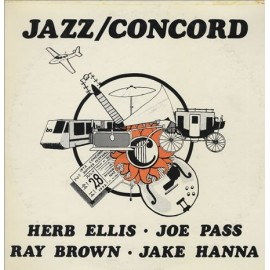 Herb ELLIS, Joe PASS, Ray BROWN, Jake HANNA - JAZZ / CONCORD (LP)