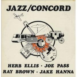 Herb ELLIS, Joe PASS, Ray BROWN, Jake HANNA - JAZZ / CONCORD (LP)