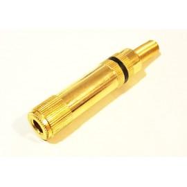 AKMN 6,4 MONO Female cable Gold