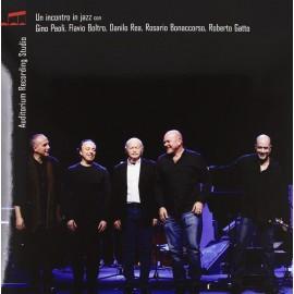 Gino PAOLI, Flavio BOLTRO, Danilo REA, Rosario BONACCORSO, Roberto GATTO - UN INCONTRO IN JAZZ  (LP)