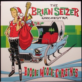 THE Brian SETZER ORCHESTRA - BOOGIE WOOGIE CHRISTMAS (LP)