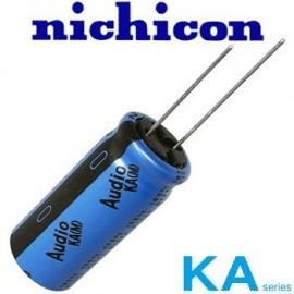 2200uF - 50 Vdc Nich KA Audio