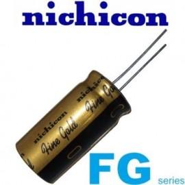100uF - 25 Vdc Nich FG Fine Gold