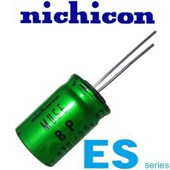 Condensatore Elettrolitico Bipolare Ues1h221mhm Nichicon Muse Es 220uf 50v