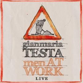 Gianmaria TESTA - MEN AT WORK LIVE (2 CD + 1 DVD