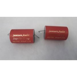 Jantzen Superior Z cap 10uf/800V - Coppia