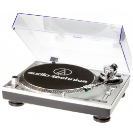 Giradischi AUDIO-TECHNICA AT-LP 120 USB HC SILVER