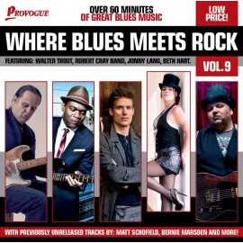 AA. VV. - WHERE BLUES METTS ROCK (CD)
