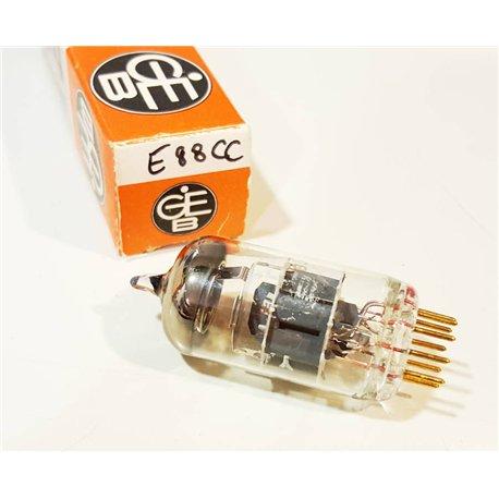 E88CC - 6922 GEB Pin Gold Single Tube NOS NIB (Tested by Audiokit V35)
