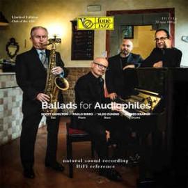 Scott HAMILTON / Paolo BIRRO / Aldo ZUNINO / Alfred KRAMER - BALLADS FOR AUDIOPHILE (LP)    zunino