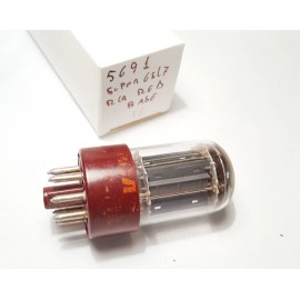 5691 WGT NOS RCA Dark Red BASE Single (Usata v16)