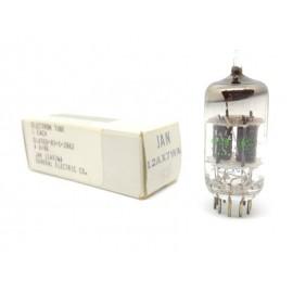 12AX7WA - E83CC JAN GE Single NOS-NIB (v58)
