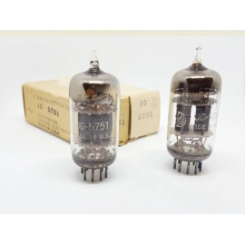 5751 Tripla Mica JG General Electric USA 1953 Coppia NOS-NIB (v22 - v26)