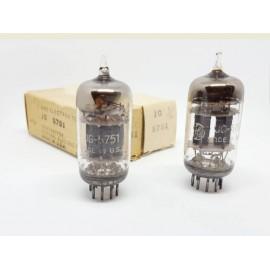 5751 Tripla Mica JG General Electric USA 1953 Pair  NOS-NIB (v22 - v26)
