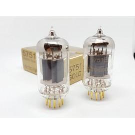 5751  EH Gold pin Gold  Coppia NOS-NIB (v9 - v11)