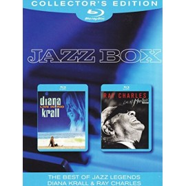 Diana KRALL & Ray CHARLES - JAZZ BOX (2 Blu Ray Diisc Video)