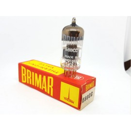 E88CC -6922 Brimar England (Mullard) Pin Gold Single NOS-NIB  (v127)