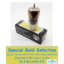 6072A - 12AY7 Electro Harmonix - 3% SPECIAL SELECTION - Single (v135)
