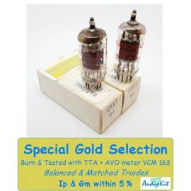 12AX7WA - E83CC National Holland NOS - 5% SPECIAL SELECTION - Pair (v28 - v29)