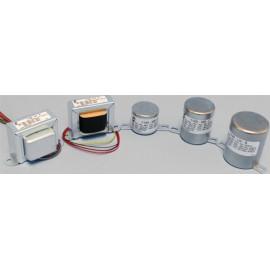 Hammond 1140-LU-B - Otput Transf 600 ohm - 600 ohm