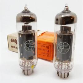 EL84 - 6BQ5 GEB NOS-NIB Pair (v9 - v12)