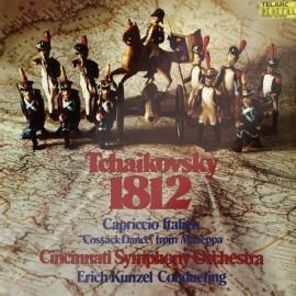 TCHAIKOVSKY - 1812 OVERTURE, CAPRICCIO ITALIANO (LP)
